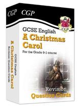 New Grade 9-1 GCSE English - A Christmas Carol Revision Question Cards