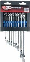 KS Tools 9-delige Combinatiesleutelset CHROMEplus 8-19 staal