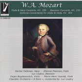 Mozart: Concerto For Harp, Flute, Bassoon, ...