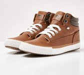 British Knights BUCK Dames sneakers hoog - Cognac - maat 37