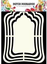 Dutch shape art label mirror 713,114