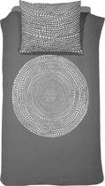 Damai Totem - Dekbedovertrek - 140 x 200/220 cm - Eenpersoons - Anthracite