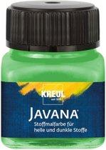 Javana groene textielverf 20ml – Voor licht en donker gekleurd textiel