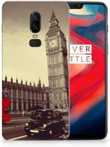 OnePlus 6 Siliconen Back Cover Londen
