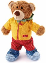 sigikid Leer- en knuffelbeer PlayQ-kids (35 cm)