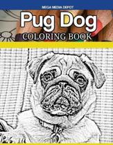 Pug Dog Coloring Book