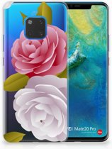 Huawei Mate 20 Pro Uniek TPU Hoesje Roses