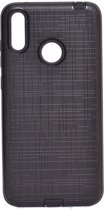 Teleplus Samsung Galaxy M20 Youyou Silicone Case Black + Nano Screen Protector hoesje
