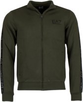 EA7 Sportvest - Maat L  - Mannen - groen/zwart/zilver
