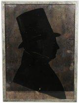 MAR10 Wand Decoratie Dinard Goud 64cm Hout