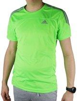 adidas Rsp Ss T M Tee M62287, Mannen, Groen, T-shirt maat: S EU