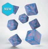 Runic RPG Dice Set Glacier & Pink (7 stuks)