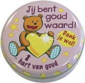 Lovely Tins - Jij Bent Goud Waard