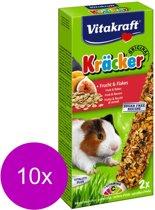 Vitakraft Cavia Kracker Fruit 2 in 1 - 10 stuks