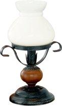 Eglo Rustic 7 - Tafellamp - 1 Lichts - Zwart, Bruin - Wit