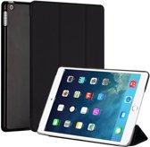 iPad 2019 10.2 inch Hard Tri-Fold Book Cover Zwart
