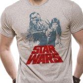 Star Wars Shirt - Solo Chewie Retro M