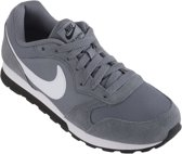 Nike Md Runner 2 Bg Jongens Sneakers - Cool Grey/White-Black - Maat 39