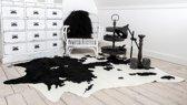 Namaak huid koe zwart gevlekt XL