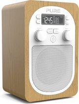 Pure Evoke H2 Draagbaar Digitaal Eiken radio