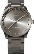 LEFF amsterdam tube watch S42 LT72101- Steel - Horloge - Staal - Grijs - Ø 42mm