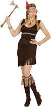 Indiaan vrouw kostuum-Maat:X-large