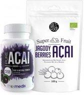 Acai Super Pakket – Natuurlijke Superfood - Capsules & Poeder