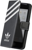 Adidas booklet tasje - zwart - Apple iPhone 5 / 5C