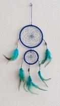 Indiaanse Dromen Vanger - Dream Catcher Klein - Indianen Deco Droomvanger Kralen Veren Ringen