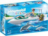 PLAYMOBIL Duiktrip met plezierboot - 6981