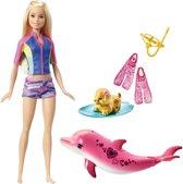 Barbie Magische Dolfijn Snorkelplezier Vrienden - Barbiepop