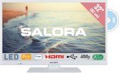 Salora 5000 series 32HDW5015 32'' HD Wit LED TV