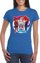 Toppers - Blauw Toppers in concert 2019 officieel t-shirt dames XS