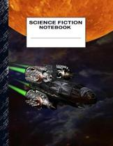 Science Fiction Notebook: Boys' and Girls Fun Handwriting and Printing Practice Notebook for Grades K-2-3