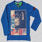 BOYS iN Control Jongen T-shirt - cobalt - Maat 116