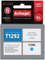 ActiveJet AE-1292N inktcartridge Compatible Cyaan 1 stuk(s)