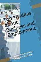 Top 10 ideas about Business and Employment
