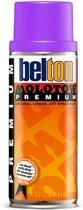 Molotow Belton Premium Neon Violet - 400ml spuitverf met halfglans afwerking