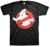 Ghostbuster t-shirt heren zwart S