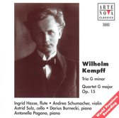 Kempff: Piano Trio in G Minor, Piano Quartet in G Major