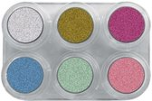 grimas pearl water make up palette 6