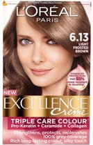 Loreal Paris Excellence Creme 6.13 Donker As Goudblond - Haarverf