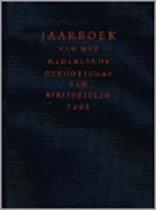 Jaarboek 1995 v h (gb) Nederlands genootschap van bibliofielen