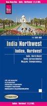 Reise Know-How Landkarte Indien, Nordwest 1 : 1.300.000
