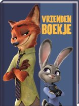 Vriendenboek- Interstat - Zootropolis - Kinderen - 14 X 19 cm