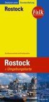 Falk Stadtplan Extra Standardfaltung Rostock 1 : 20 000