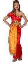 India Bollywood kostuum voor meisjes 116 (5-6 jaar)