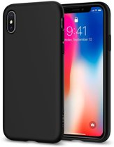Zwart Liquid Crystal™ Case iPhone X