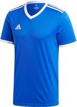 adidas Sportshirt - Maat 116  - Unisex - blauw/wit