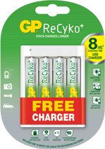 GP xAA met gratis USB lader